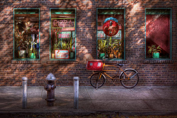 Photograph - Bike - Ny - Chelsea - The Delivery Bike by Mike Savad
