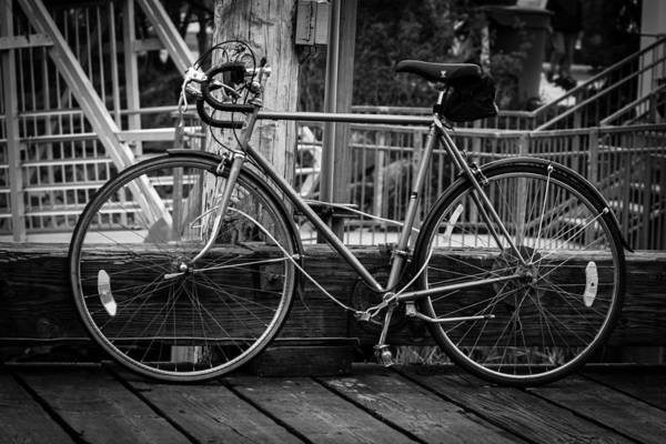 Photograph - Bike On Deck by Melinda Ledsome