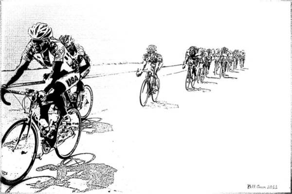 Photograph - Bike Racers by Bill Cannon