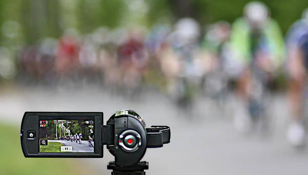 Photograph - Bike Racing by Pat Moore