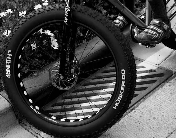 Photograph - Bike Tire by Bitter Buffalo Photography