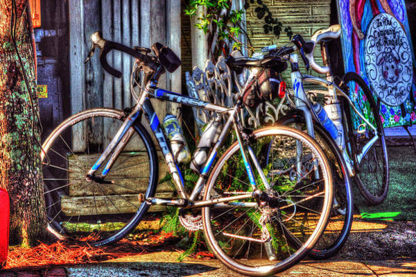 Digital Art - Bike Trek by Michael Thomas