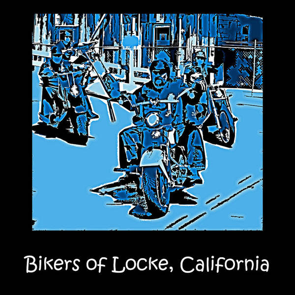 Photograph - Bikers Of Locke California by Joseph Coulombe