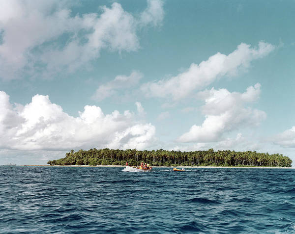 Micronesia Photograph - Bikini Atoll by Us Department Of Energy
