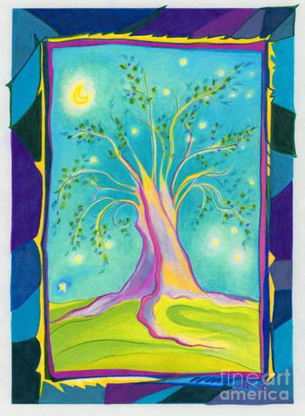 First Star Drawing - Bilabo Tree  by First Star Art