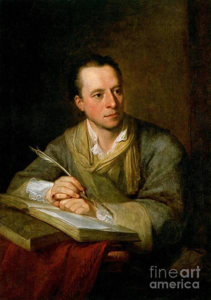 Painting - Bildnis Johann Joachim Winckelmann by Celestial Images
