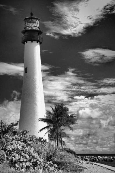 Photograph - Bill Baggs Lighthouse by Rudy Umans