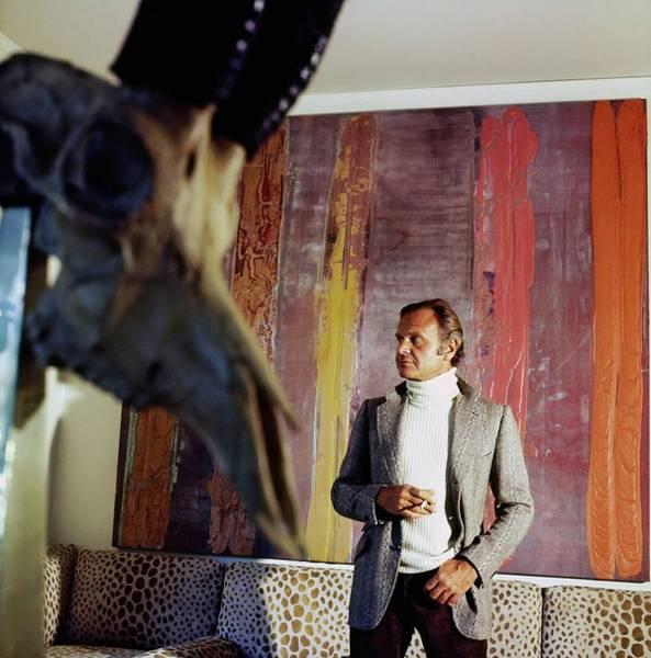 Wall Art - Photograph - Bill Blass At Home by Horst P. Horst