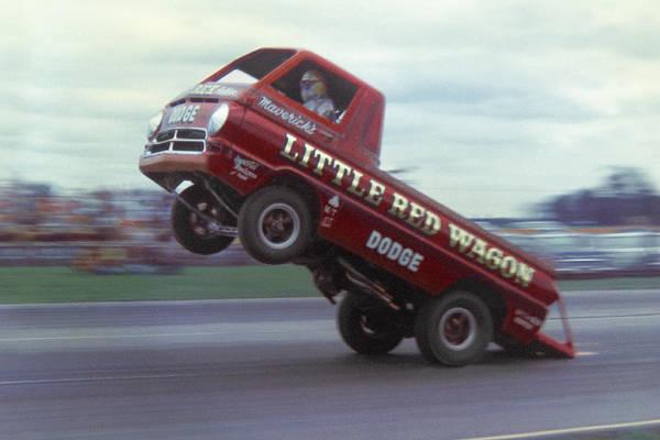 Wall Art - Photograph - Bill Maverick Golden In The Little Red Wagon by Mike McGlothlen
