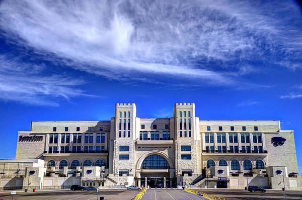 Kansas State University Photograph - Bill Snyder Family Stadium by Jean Hutchison