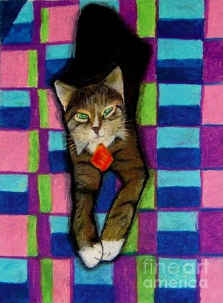 Pastel - Bill The Cat by Jon Kittleson