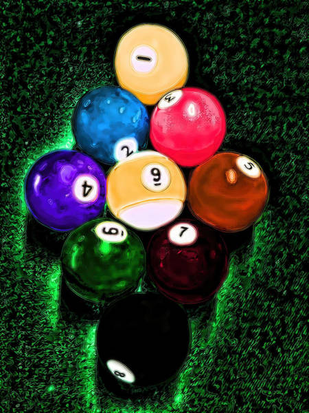 Billiards Art - Your Break Art Print