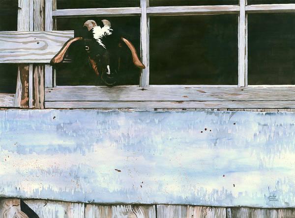 Bill's Goat Art Print