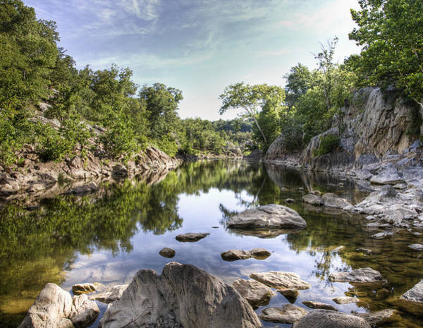 Best Selling Photograph - Potomac River Channel by Francis Sullivan