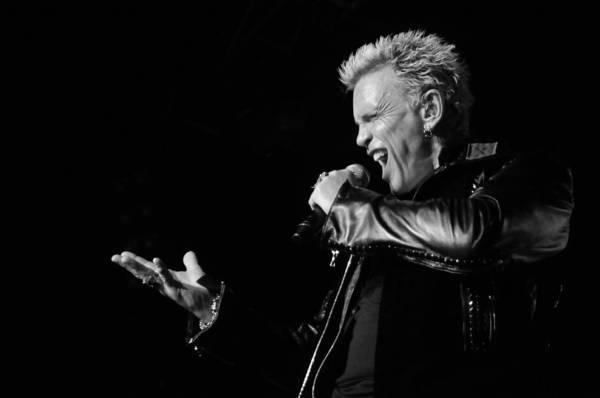 Billy Idol Photograph - Billy Idol by Jon Burkhart