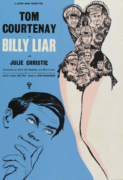Julie Christie Photograph - Billy Liar - 1963 by Georgia Fowler