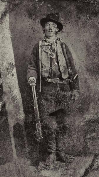 Garrett County Wall Art - Photograph - Billy The Kid C. 1879 by Daniel Hagerman