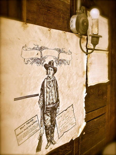 Photograph - Billy The Kid by Kim Pippinger