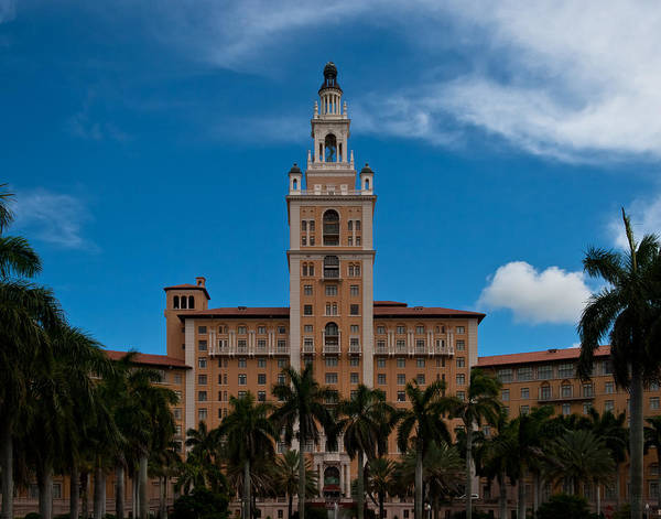 Photograph - Biltmore Hotel Coral Gables by Ed Gleichman