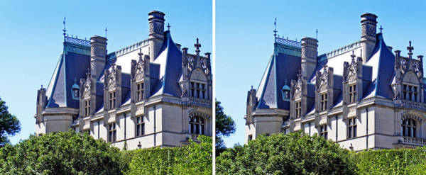 Photograph - Biltmore House In Stereo by Duane McCullough