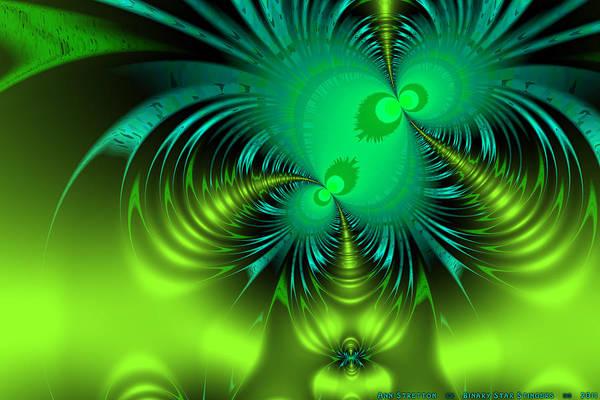 Digital Art - Binary Star Stingers  by Ann Stretton