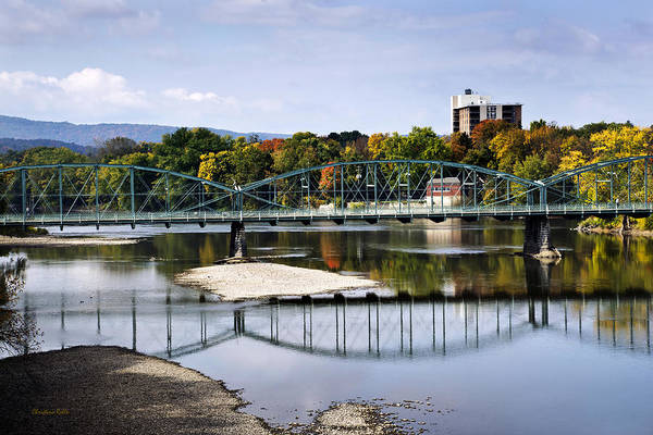 Broome Photograph - Binghamton Ny South Washington St. Bridge by Christina Rollo