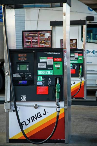 Controversial Photograph - Biodiesel Fuel Pump by Peter Menzel/science Photo Library