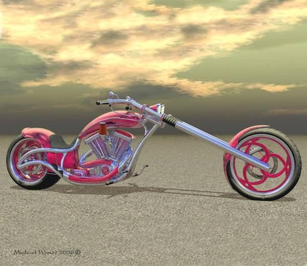Speed Boat Digital Art - Biohazard by Michael Wimer