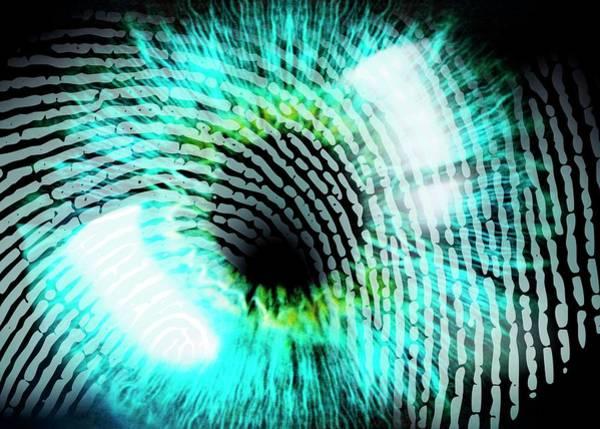 Wall Art - Photograph - Biometric Identification by Pasieka