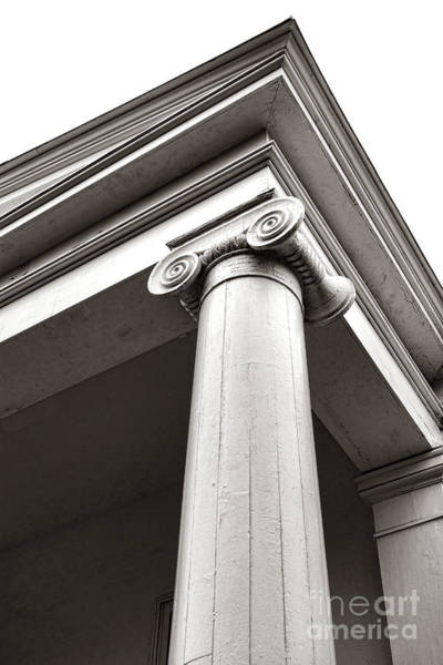 Greek Revival Architecture Photograph - Bionic Ionic by Olivier Le Queinec