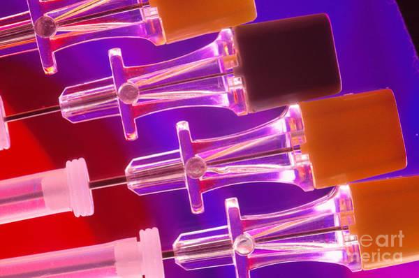 Photograph - Biopsy Needles by Charlotte Raymond