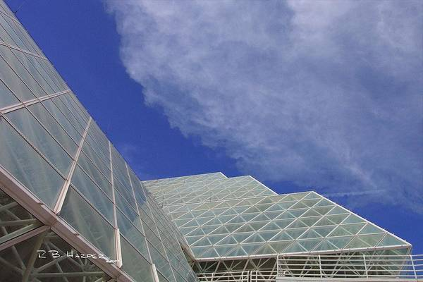 Photograph - Biosphere 2 Glazing by R B Harper