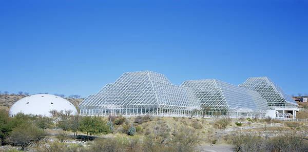 Wall Art - Photograph - Biosphere 2 Laboratory Buildings by Alex Bartel/science Photo Library