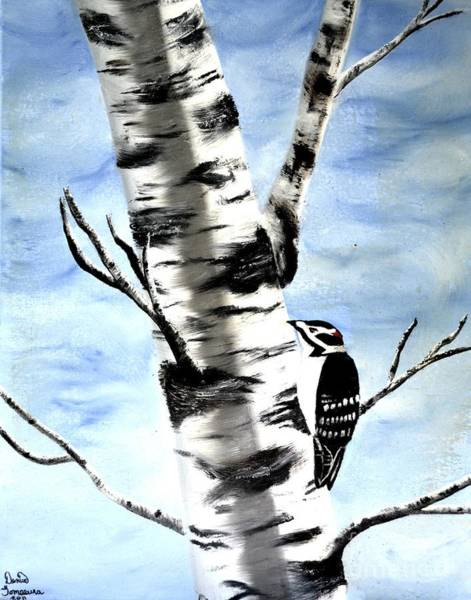 Painting - Birch Tree by Denise Tomasura
