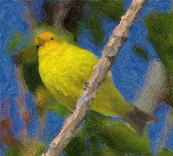 Mixed Media - Bird by Frank Lee Hawkins  Eastern Sierra Gallery