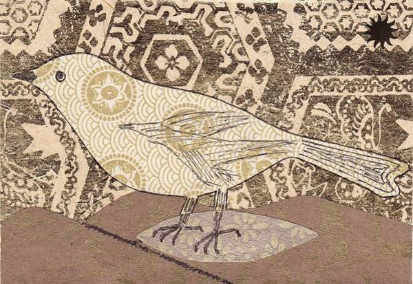 Wallpaper Mixed Media - Bird by Matthew Hoffman