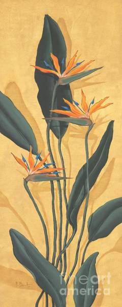 Wall Art - Painting - Bird Of Paradise by Paul Brent