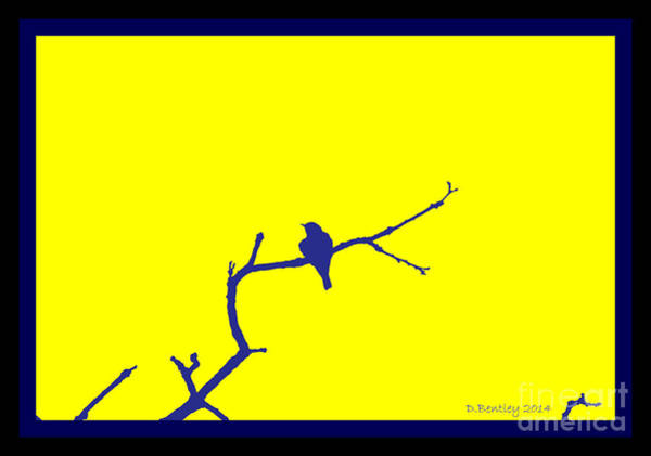 Photograph - Bird On A Branch by Donna Bentley