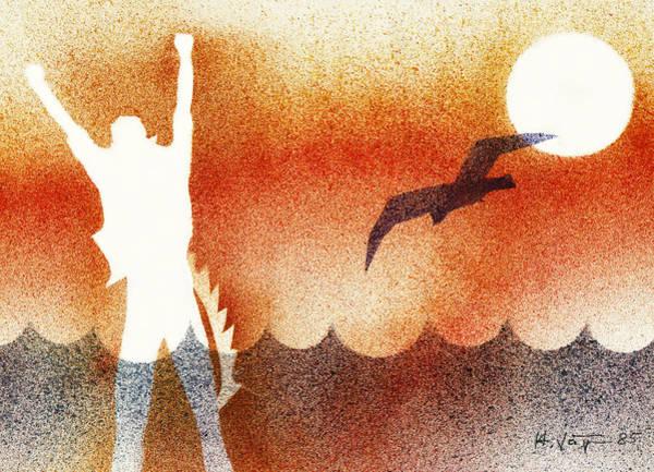 Birdman Painting - Birdman by Hartmut Jager