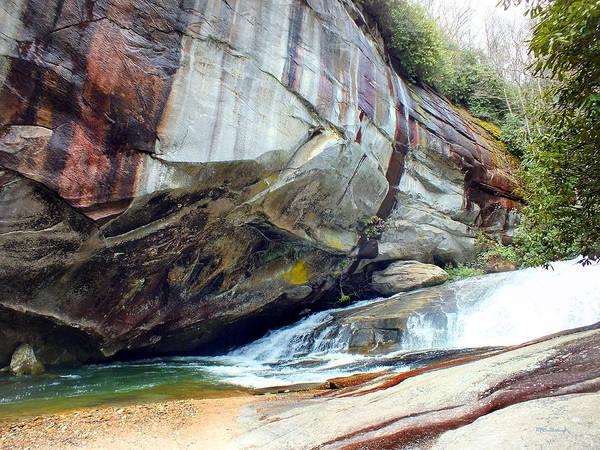 Birdrock Waterfall In Spring Art Print