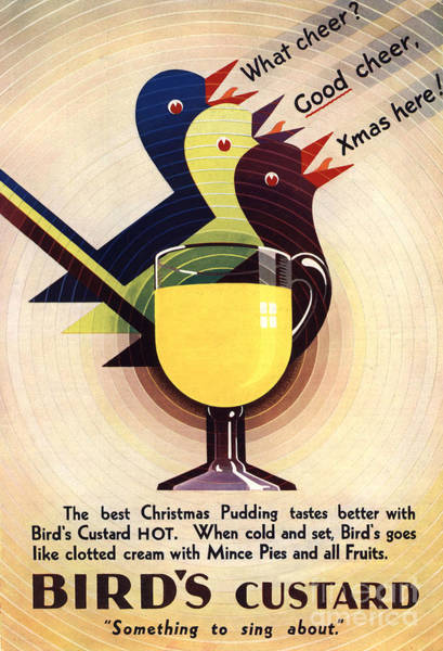 Nineteen-thirties Wall Art - Drawing - Bird�s Custard 1931 1930s Uk by The Advertising Archives