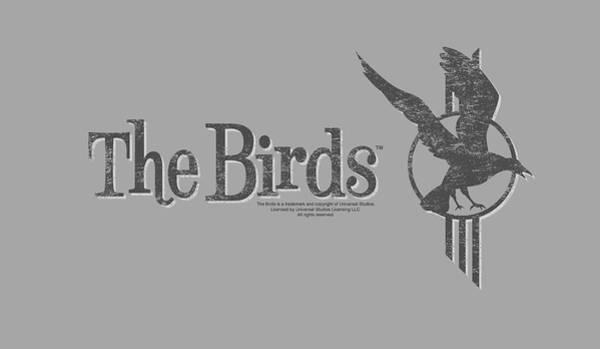 Suspense Digital Art - Birds - Distressed by Brand A