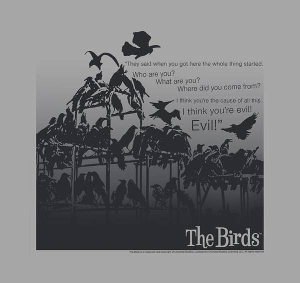 Suspense Digital Art - Birds - Evil by Brand A