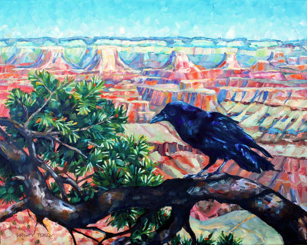 Grand Mesa Painting - Bird's Eye View by Kristy Tracy