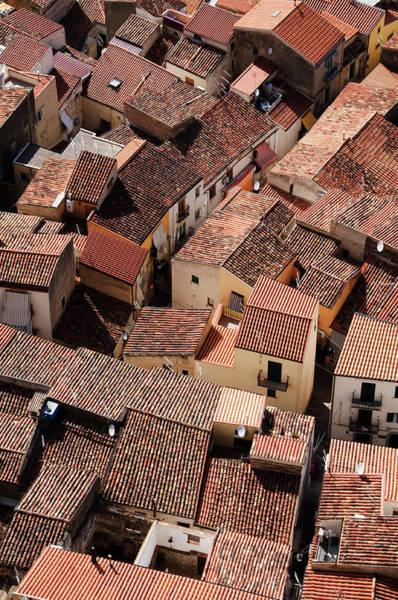 Sicily Photograph - Birds Eye View Of Cefalus Historic by Krzysztof Dydynski