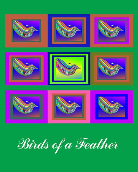 Birds Of A Feather 2 Art Print