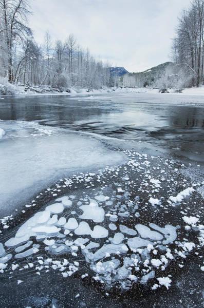 Pemberton Photograph - Birkenhead River In Winter British by Alan Majchrowicz