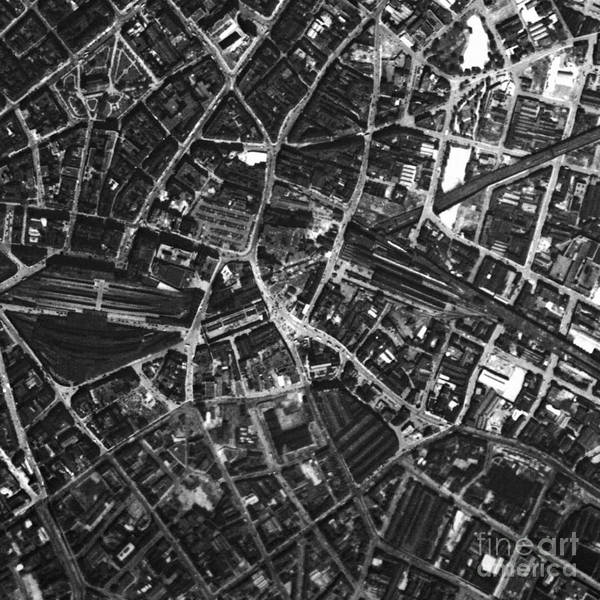 Wall Art - Photograph - Birmingham, Historical Aerial Photograph by Getmapping Plc