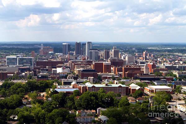 Photograph - Birmingham Skyline by Steven Frame