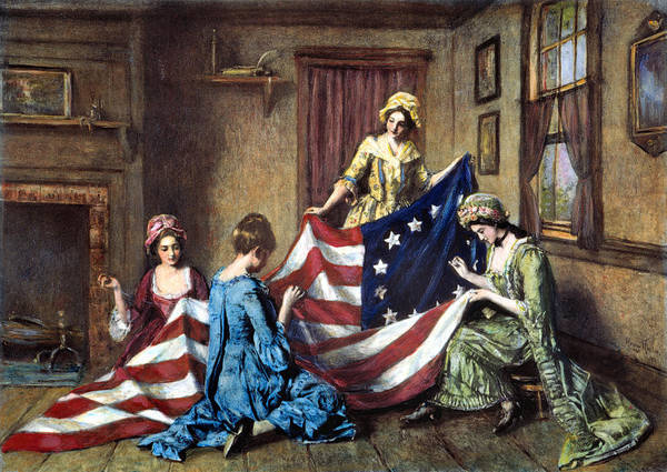 Wall Art - Photograph - Birth Of The Flag by Granger